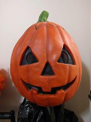 StrangeBrew Pumpkin Halloween Mask Witch Hag Don Post Halloween Distortions - Post Halloween Pumpkin