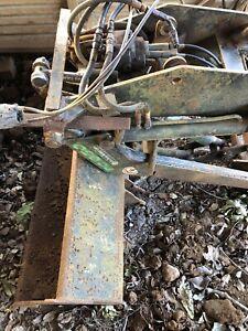 Sigma 650 reverse mounted loader from Antonio Carraro tractor