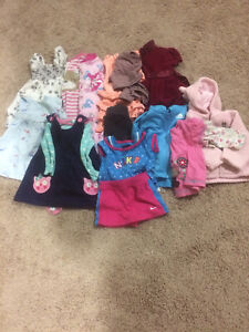 6-12 Months Assorted Baby Girl Clothes