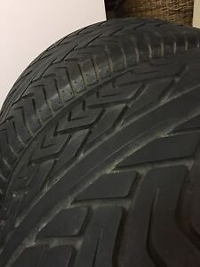 Yokohama tyres 255/50/17 (x2) 95% tread Browns Plains Logan Area Preview