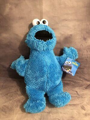 """Kohls Cares for Kids Cookie Monster Blue Soft Plush Animal Sesame Street 15"""" NWT"""