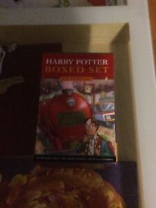 Harry Potter boxed set hard cover