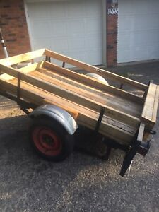3 x 5 ft utility trailer
