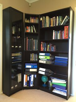 Near new IKEA bookshelves and display unit. Pennant Hills Hornsby Area Preview