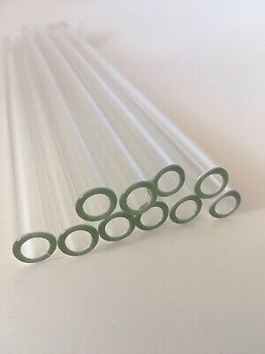 8 Inch 10 Piece Pyrex Glass Tubes 10 Mm Od 8mm Id 1mm Thick Wall