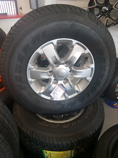 Ford Ranger wheel and tyre package