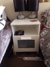Ikea white bedside table Pyrmont Inner Sydney Preview