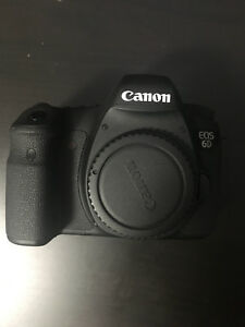 Canon 6d Body Only (with free extras if purchased today)