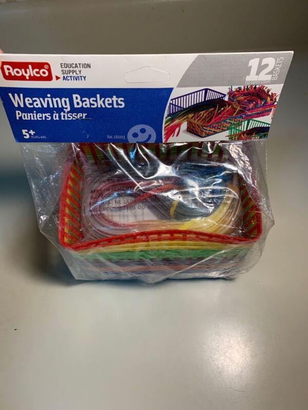 Roylco Inc. - Weaving Baskets 12 Baskets - 150 Strip D3