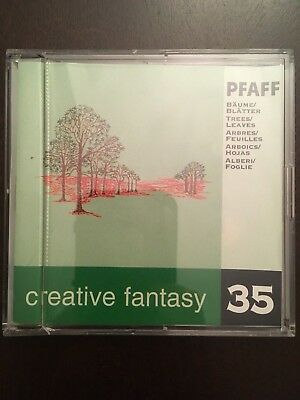 Pfaff Embroidery Machine Card Creative Fantasy #35 Trees