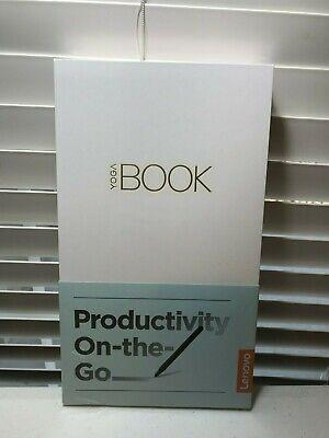 "Lenovo ZA150000US Yoga Book 10.1"" FHD Touchscreen x5-Z8550 1.44GHz 4GB RAM 64GB"