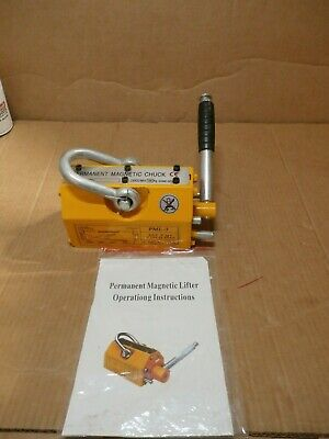 New Permanent Magnetic Lifting Chuck Pml-3 300 Kg Max New Out Of Box