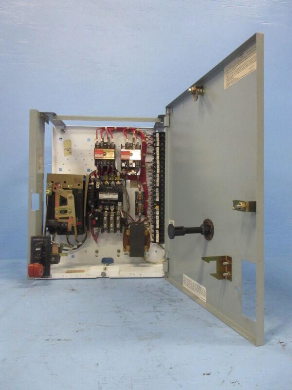 "General Electric GE 8000 Size 1 Starter 3 Amp Breaker Type 18"" MCC Bucket 3A TEC"