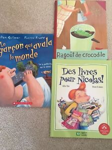 3 French kid books