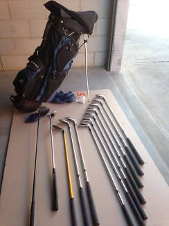 Set of 12 high quality, good condition men's RH golf clubs & bag Ascot Belmont Area Preview