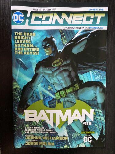 DC CONNECT #17 OCTOBER 2021 BATMAN #118, BATGIRLS, SHADOWS OF THE BAT, PROMO