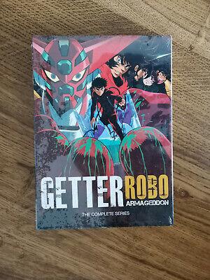 GETTER ROBO ARMAGEDDON THE COMPLETE SERIES DVD DISCOTEK MEDIA EASTERN STAR NEW
