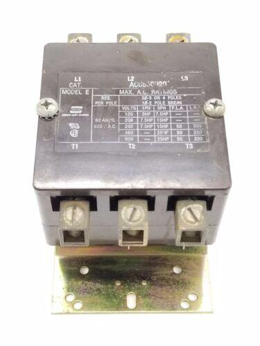 ARROW HART ACC530U20 CONTACTOR MODEL E, 34530-502 COIL