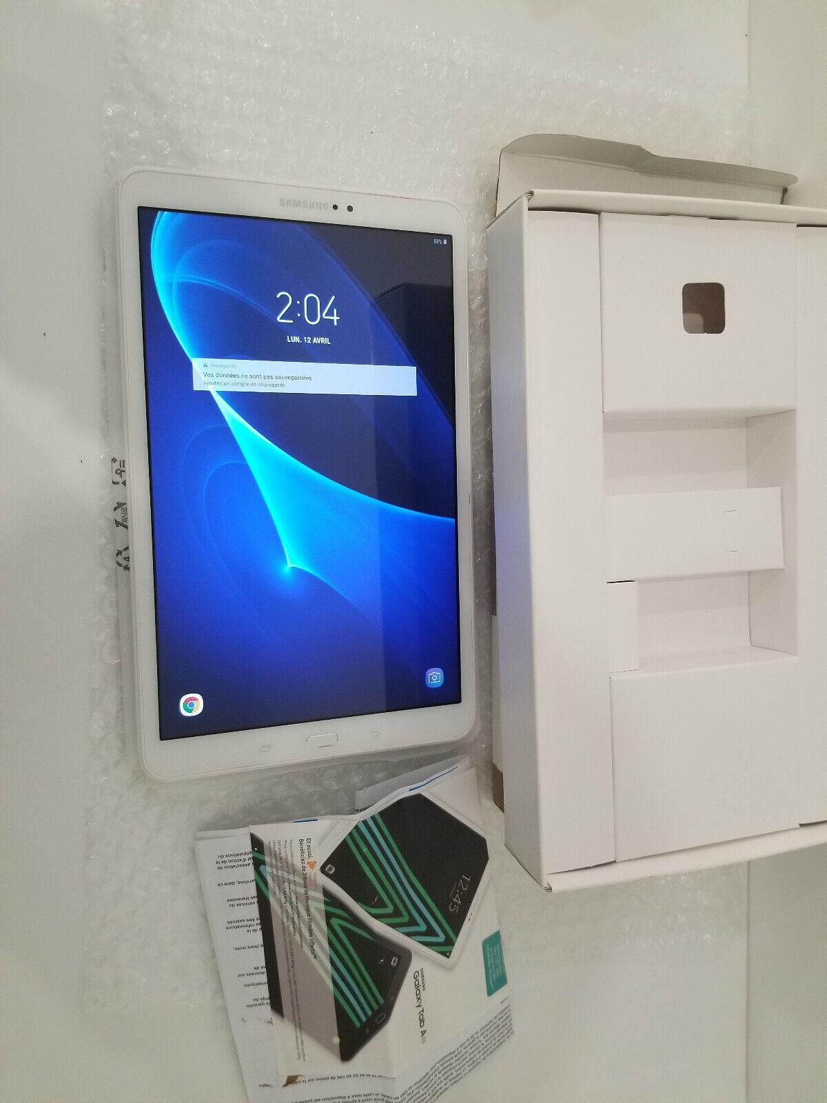 Samsung galaxy tab a10.1in wifi 32gb (sm-t580)