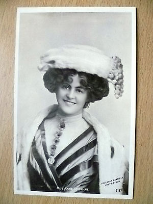 1905 Used Postcards- Actresses MISS MARIE STUDHOLME, No. 0197 + Stamp