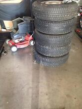 Toyota Hilux 4x4 rims and tyres Maitland Maitland Area Preview