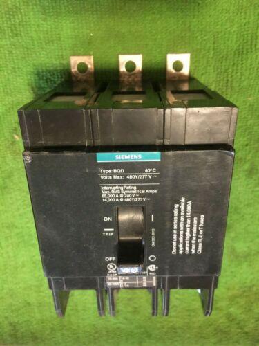 Siemens Ite Type Bqd Bqd340 Circuit Breaker 3pole 40 Amp 480v