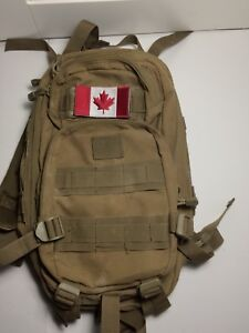 Condor tactical backpack with Canadian patch
