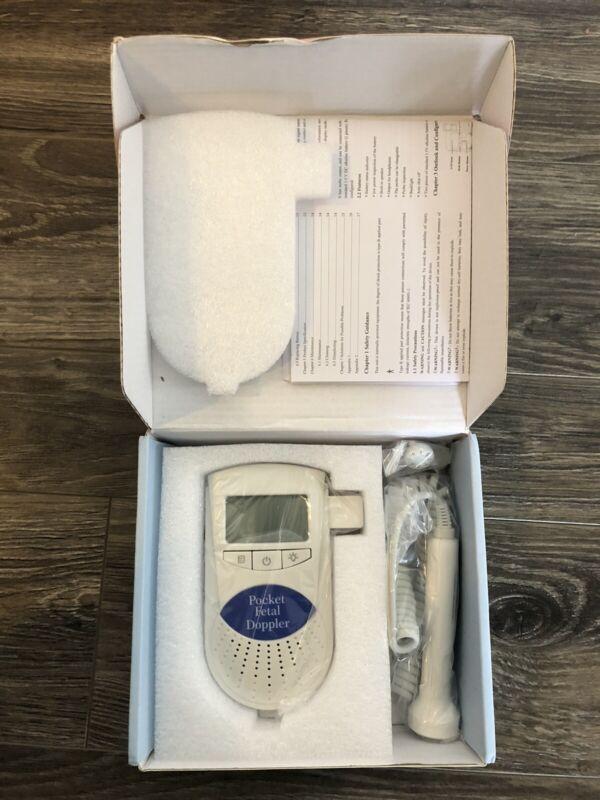 Pocket Fetal Doppler, Baby Heartbeat Monitor (NEW)