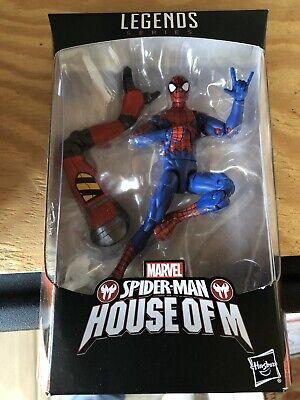 Marvel Legends - 6 In - House Of M Spider-man - SP dr Series - MOC