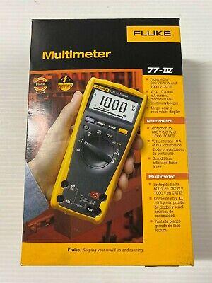 Fluke 77 Iv 1000v Industrial Digital Multimeter Dmm 77-iv