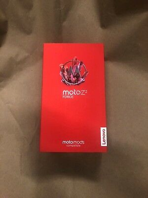 Stamp New Motorola Moto Z2 Force Droid XT1789 - 64 GB - Super Black Verizon 4G