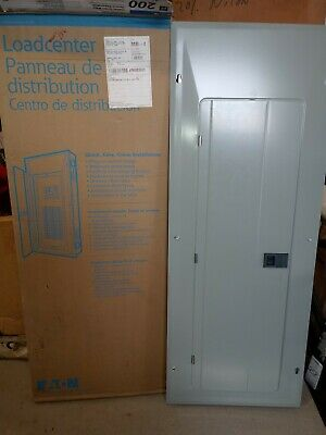 Eaton 200-amp 40-space 80-circuit Main-breaker Box Indoor Home Electrical-panel