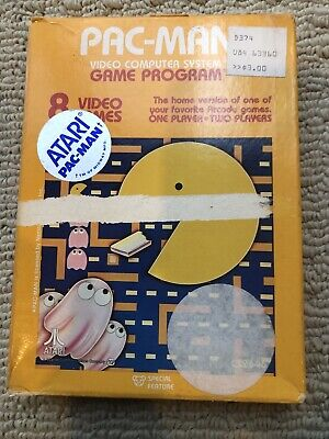 Pacman Atari 2600 Complete In Box