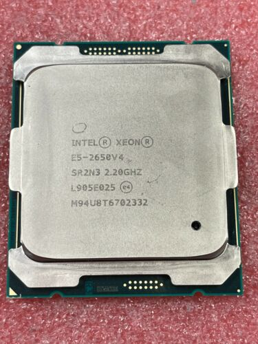 Intel Xeon E5-2650v4 12-Core 2.20GHz 30Mb LGA2011-3 CPU SR2N3
