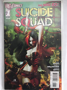 Suicide Squad (New 52) #1, first print