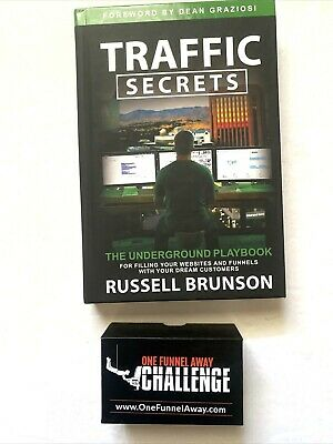One Funnel Away Challenge Mp3 Player Traffic Secret Book By Russell Brunson