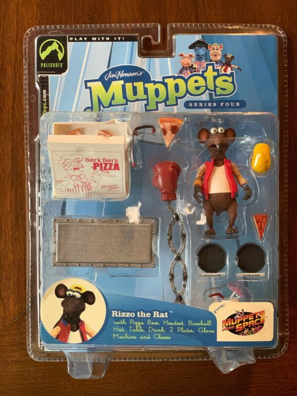 Muppet Palisades Figure Rizzo Regular New