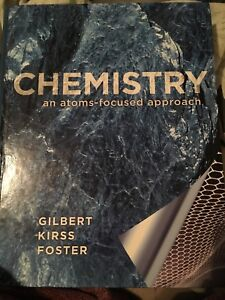 Chemistry an atoms focused approach