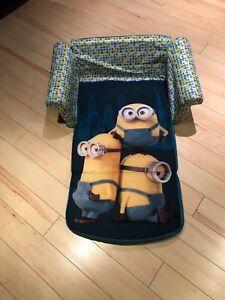 Minions kids sofa / bed