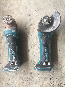 Makita 18v Angle Grinder SKIN ONLY X2 Hillsdale Botany Bay Area Preview