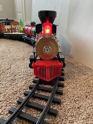 EZTEC G-Gauge North Pole Express Animated Christmas Train Set Used 26 Pieces