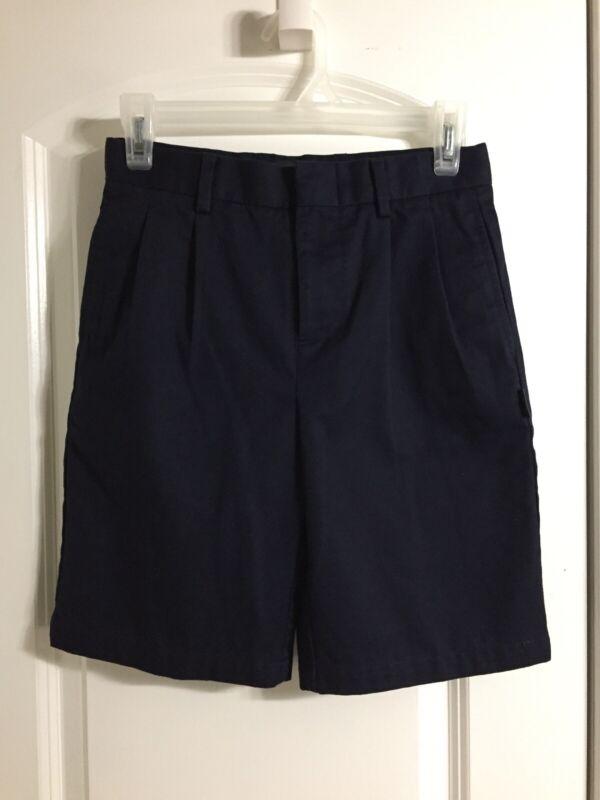 Parker School Uniform ~ Girls/Boys Shorts Size 10 Dark Blue