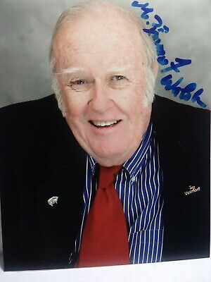 M EMMET WALSH Authentic Hand Signed Autograph 4X5 Photo FAMOUS CHARACTOR ACTOR