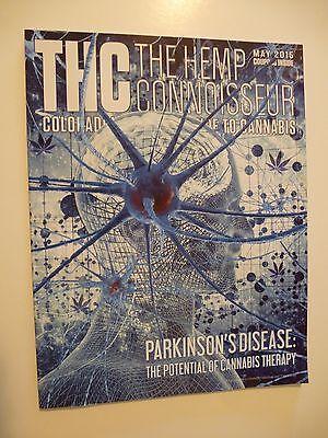 Thc Hemp Connoisseur May 2015  Parkinsons Disease Colorado Cannabis Rosen Tech