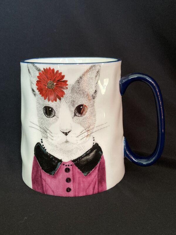 Signatures Housewares Inc Hipster Cat Mug 16oz