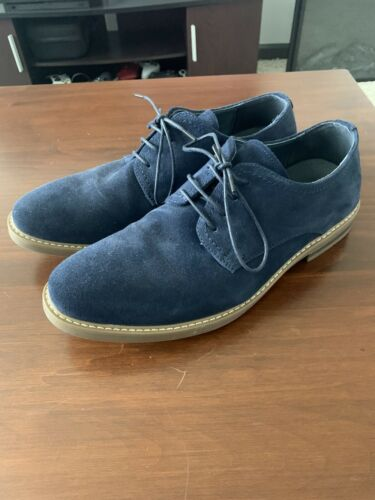 Bruno Marc Mens Suede Leather Shoes Lace Up Casual Oxford Sh