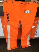 STIHL CHAINSAW TROUSERS GOVERNMENT & UTILITY SPEC Payneham Norwood Area Preview