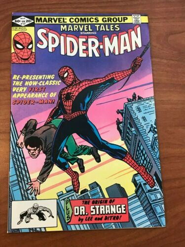 Marvel Tales #137 reprints Amazing Fantasy 15 Marvel Comics 1981 Spider-man