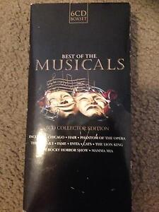 Best of the musicals 6CD collector edition Glen Iris Boroondara Area Preview