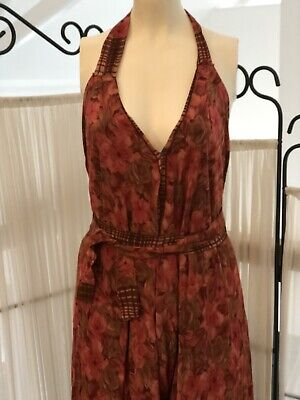 Exquisite Indian Vintage Silk Bohemian Handmade Hippie Ethnic Gypsy Jump suit